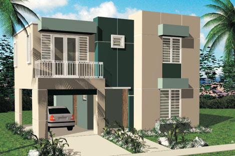 Fachadas de dos plantas todo fachadas for Fachadas de casas modernas de una planta en puerto rico