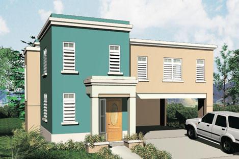 Fachadas de dos plantas todo fachadas - Casas minimalistas prefabricadas ...