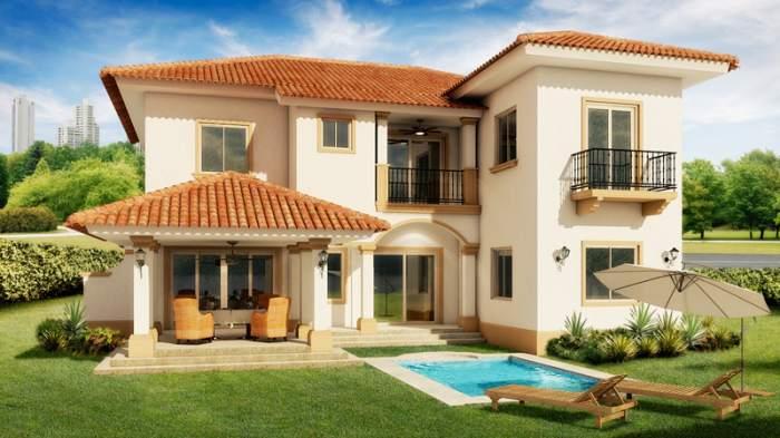 Fachadas coloniales fachadas de casas for Modelos de casas fachadas fotos