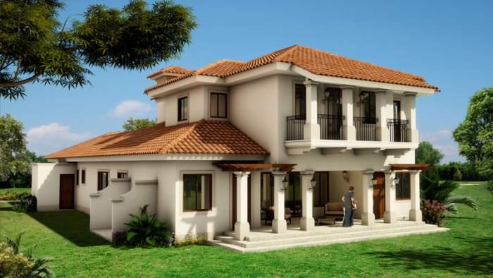 Fachadas coloniales fachadas de casas for Ver techos de casas