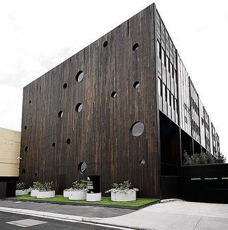 Fachadas de edificios fachadas de casas for Edificios minimalistas fotos