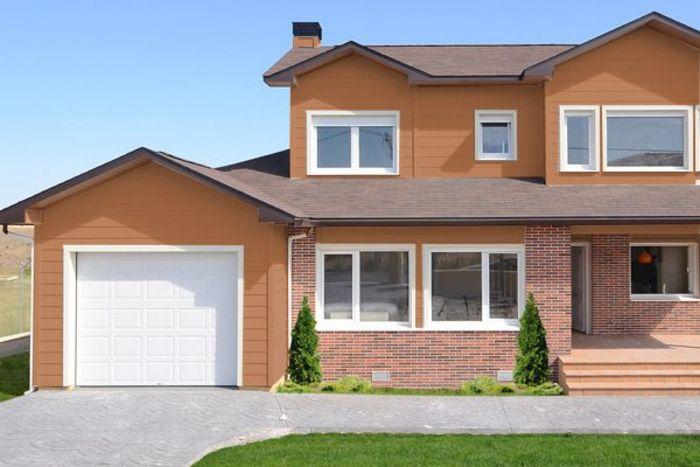 50 modelos de fachadas residenciales de todos los estilos for Fachadas de casas modernas para colorear