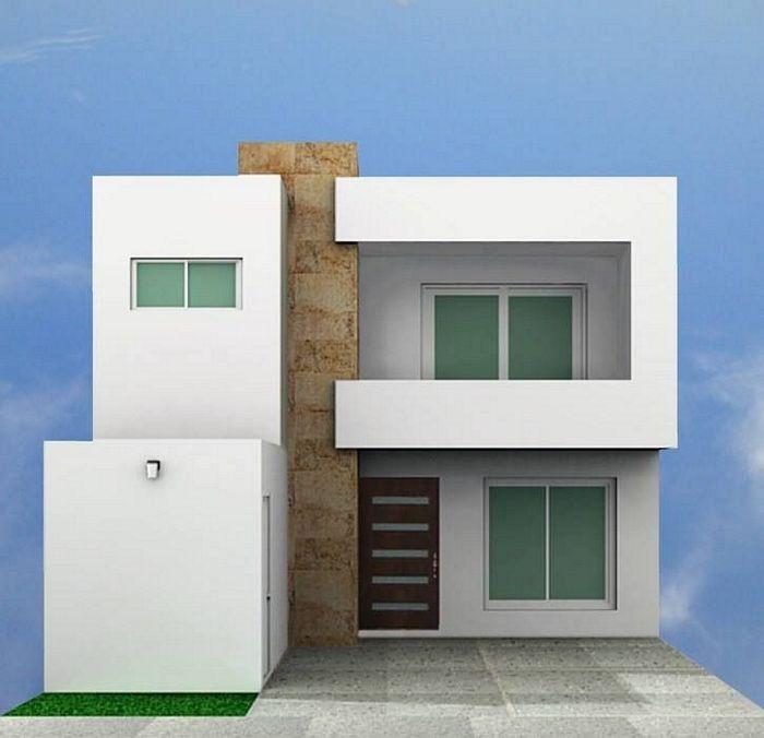 Fachadas minimalistas fachadas de casas for Galerias casas minimalistas