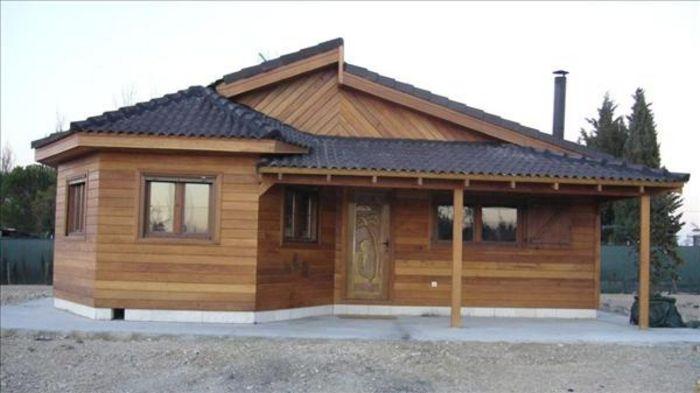 Fachadas casas de madera todo fachadas for Modelos de casas de madera de un piso