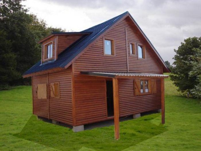 Ejemplos de fachadas de casas de madera y claves a tener - Casas madera nordicas ...