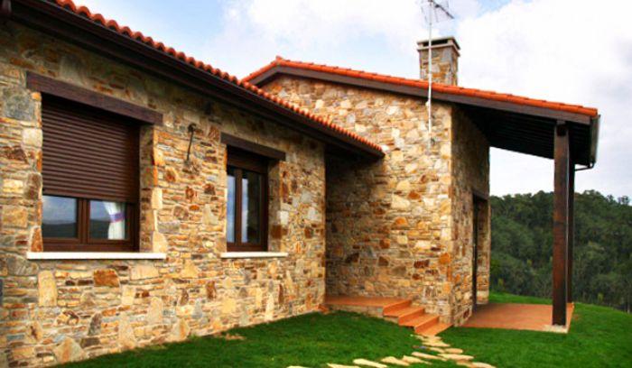 Fachadas rusticas fachadas de casas Casas modernas precio construccion