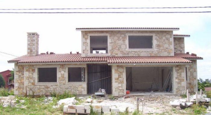 25 fachadas de piedra para inspirar todo fachadas for Piedra rustica para fachadas