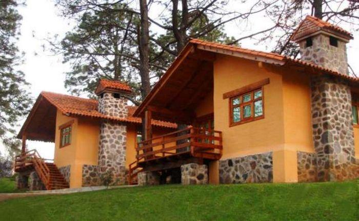Fachadas de piedra fachadas de casas - Construccion casas de piedra ...