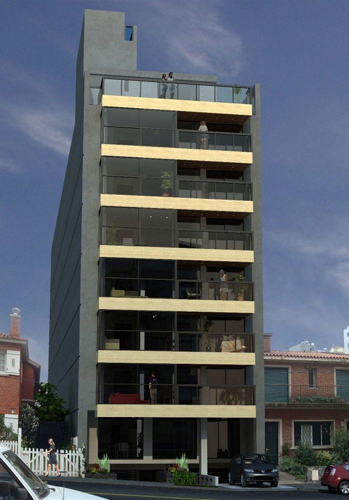 29 asombrosas fachadas de edificios modernos todo fachadas for Modelos de fachadas de viviendas modernas