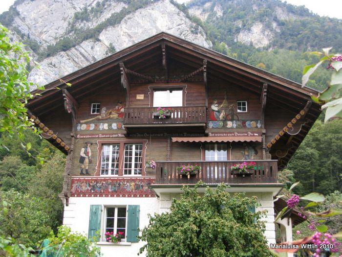 Fachadas Swiss Chalets Fachadas De Casas