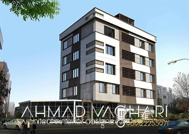29 asombrosas fachadas de edificios modernos todo fachadas for Fachadas de pisos modernos
