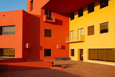 El color de la fachada