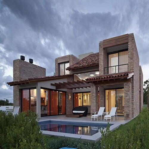 Fachada de casa de brasil fachada moderna fachadas de casas - Fachadas rusticas modernas ...