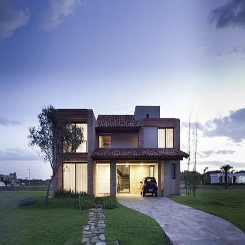 Fachada de casa de brasil fachada moderna fachadas de for Casas modernas brasil
