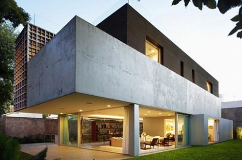 Imagen fachadas casas contemporaneas