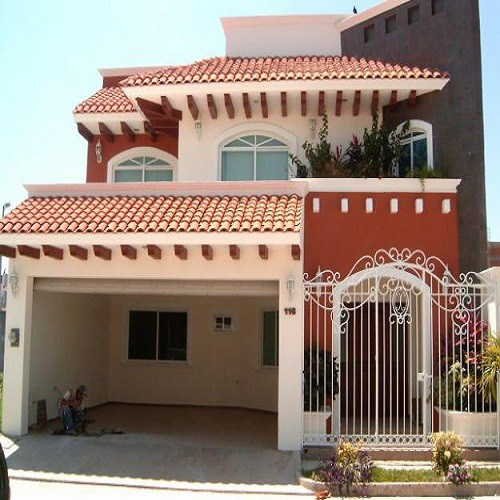 Fachadas coloniales mexicanas fachadas de casas for Fachada de casas modernas con tejas