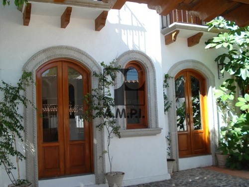Imagen de fachadas coloniales mexicanas