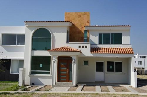 Imagen de fachadas de casas mexicanas