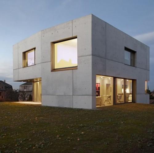 Fachada hormig n prefabricado fachadas de casas - Casa de hormigon prefabricado ...
