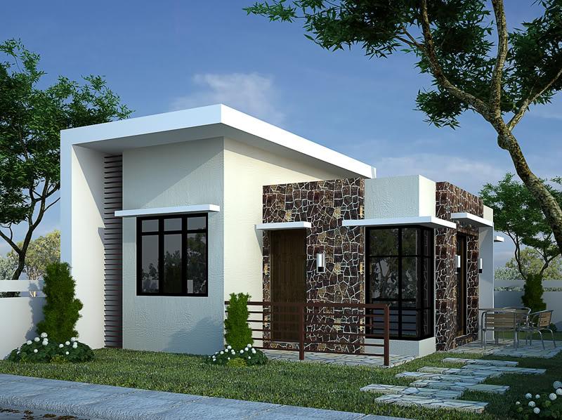 Fachadas de casas modernas peque as fachadas de casas for Casa moderno kl