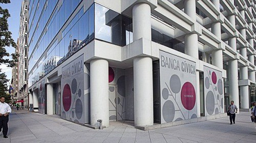 Fachadas de bancos