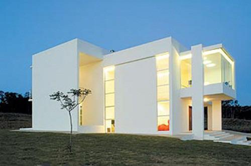 Fachadas de casas minimalistas todo fachadas for Viviendas estilo minimalista