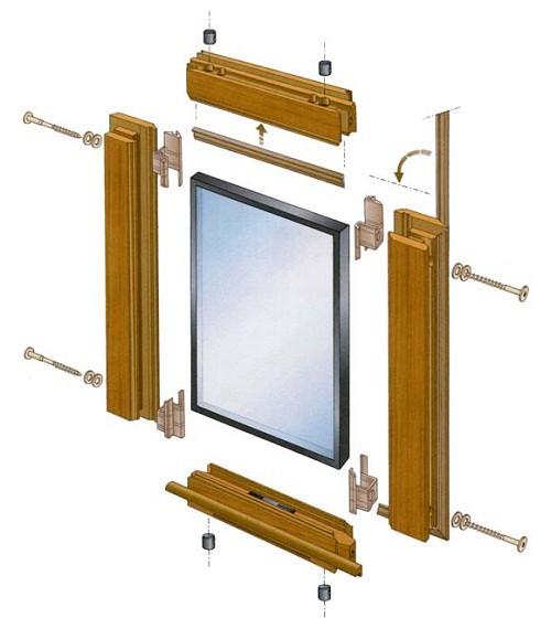 Cu les son los marcos de ventanas m s eficientes for Marcos de pvc para ventanas