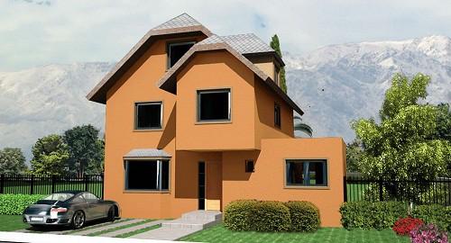 Fachadas de iglesias fachadas de casas for Casas modernas residenciales