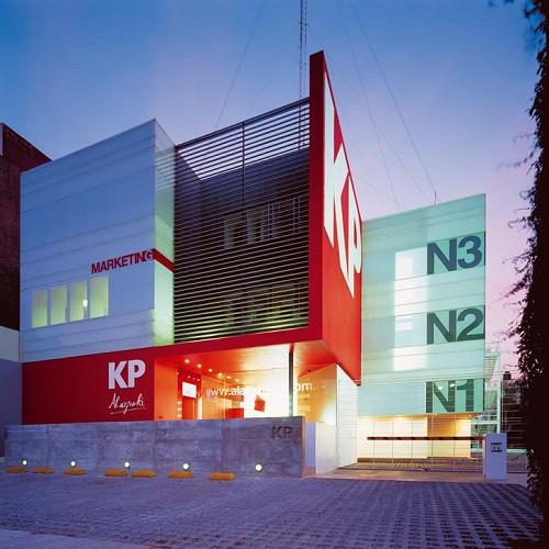 Fachadas corporativas todo fachadas for Fachadas oficinas minimalistas