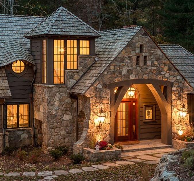 Modelos de fachadas r sticas todo fachadas for Fachadas rusticas de piedra y ladrillo