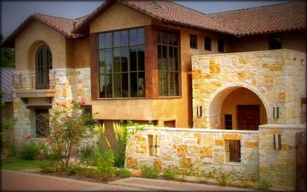 Modelos de fachadas r sticas fachadas de casas - Piedra rustica para fachadas ...