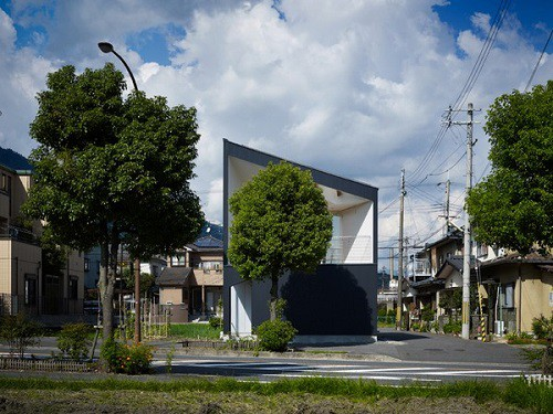 Fachadas de casas japonesas todo fachadas for Casa moderna japonesa
