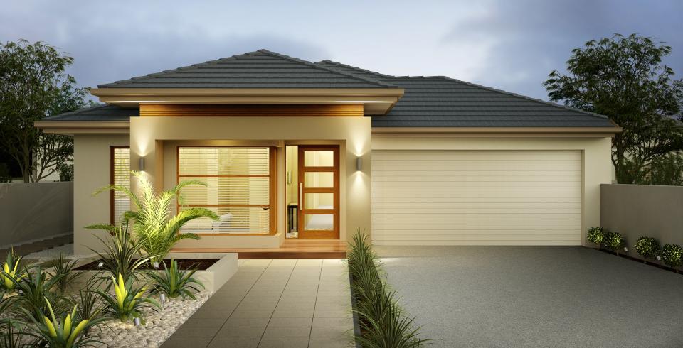 La adaptabilidad de las casas estilo americano todo fachadas for Casa minimalista de un piso