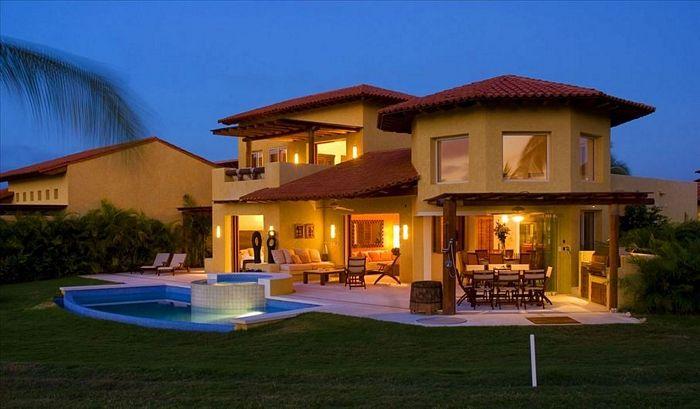 Fachadas iluminacion 4 fachadas de casas for Casas chalet modernas