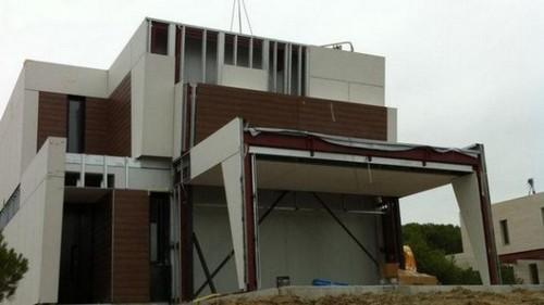Fachadas de casas prefabricada modular por a cero - Casas prefabricadas joaquin torres ...