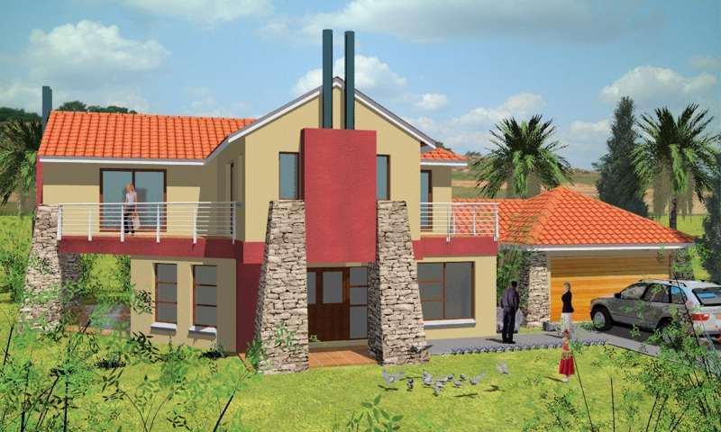Fachadas campestres fachadas de casas for Fachadas de casas modernas con piedra de una planta