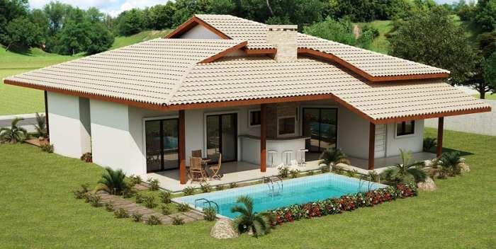 Fachadas campestres fachadas de casas for Fachadas de casas de campo