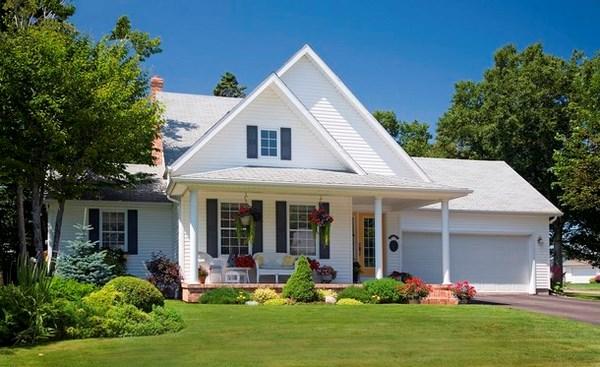 11 fachadas americanas de ensue o todo fachadas for Fachadas de casas americanas