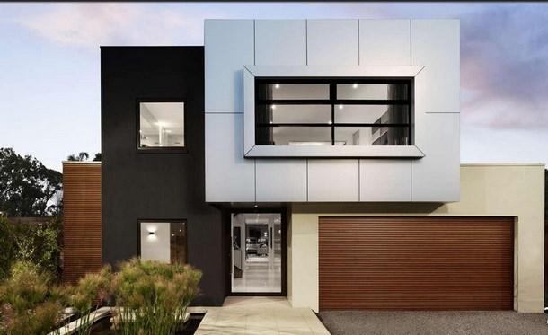 Casas minimalistas modernas todo fachadas for Construccion de casas minimalistas en argentina