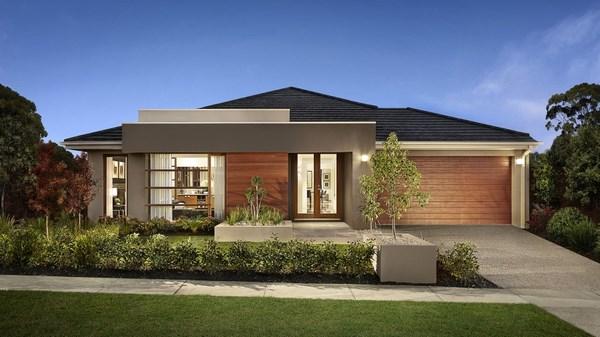 Casas modernas de una planta todo fachadas for Fachadas para casas de una sola planta