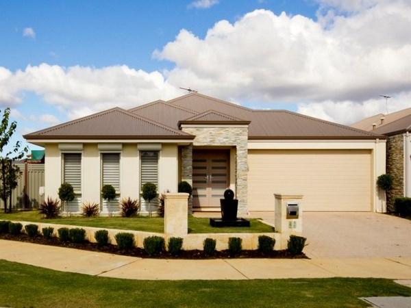 Casas modernas de una planta todo fachadas for Modelos de casas de una sola planta