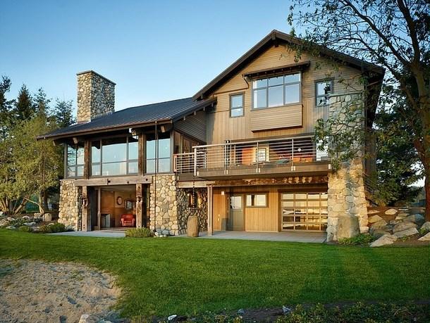 Fachadas al mejor estilo r stico fachadas de casas - Casa al rustico ...