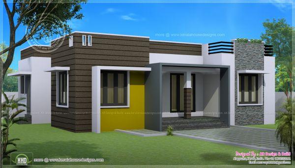 Casas modernas de una planta todo fachadas for Fachadas modernas una planta