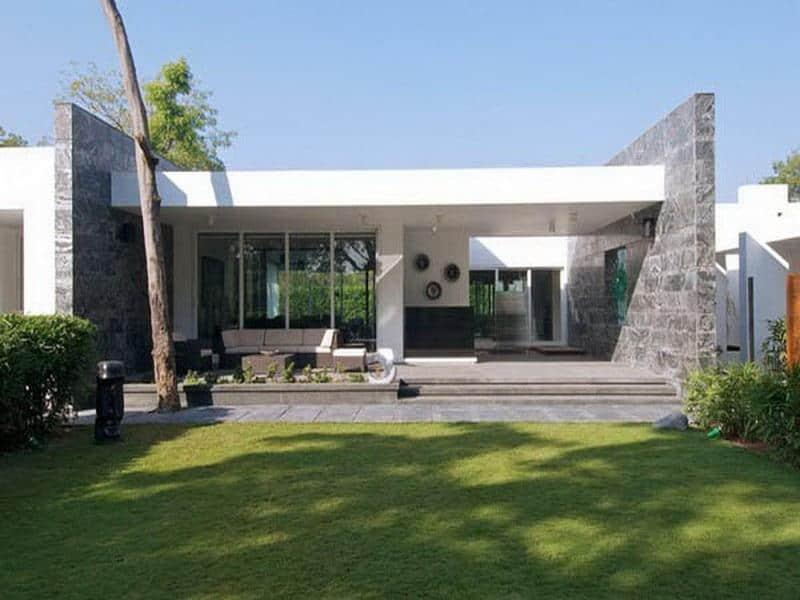 Casas modernas de una planta todo fachadas for Fotos casas modernas una planta