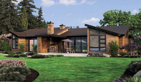 Casas de estilo campestre todo fachadas - Casas con estilo moderno ...