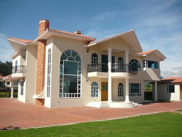 Casas de estilo campestre fachadas de casas for Fachadas de casas campestres