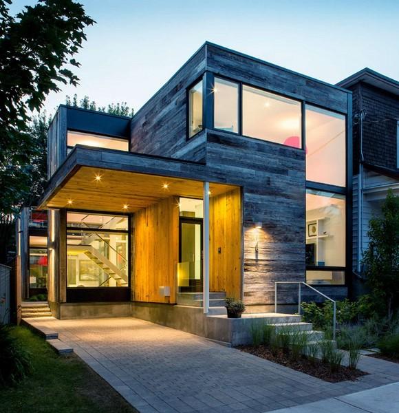Casas modernas de dos plantas fachadas de casas - Casas de dos plantas modernas ...