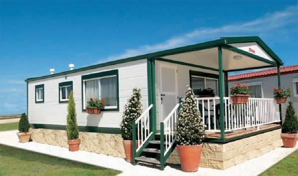 Estilos variados de casas prefabricadas fachadas de casas - Casas de moviles ...