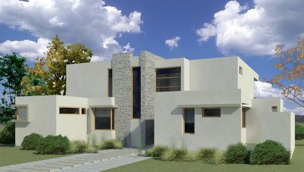 Fachadas de estilo mediterr neo fachadas de casas for Casas prefabricadas mediterraneas