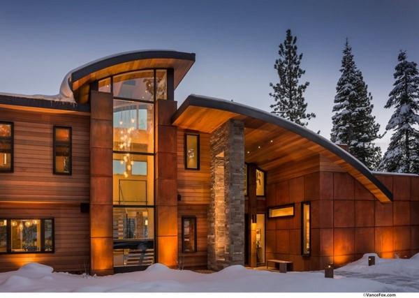 Tipos de ventanas para fachadas modernas todo fachadas for Tipos de puertas de casa